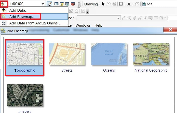 add basemap in arcgis tutorial