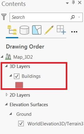 convert layer 2D to 3D arcgis pro 3d