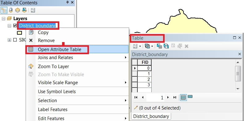 open attribute table in arcgis tutorial