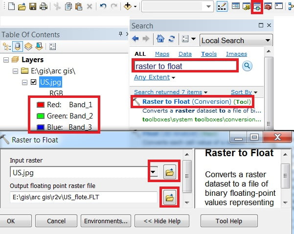 how to convert raster to vector in arcgis