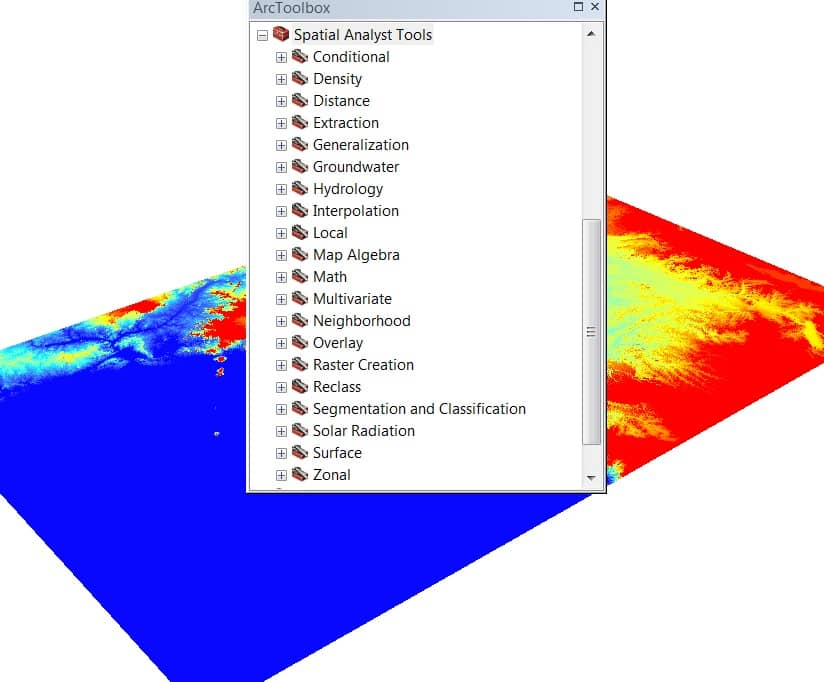 Spatial Analyst tools